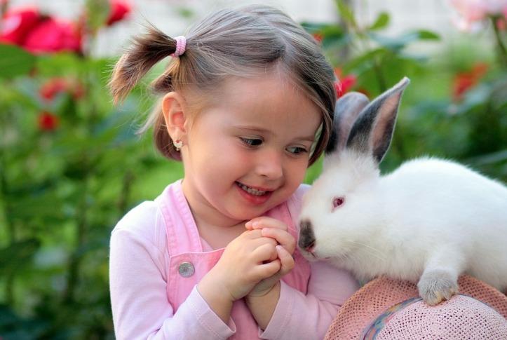 girl-rabbit