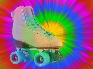 retro skates image